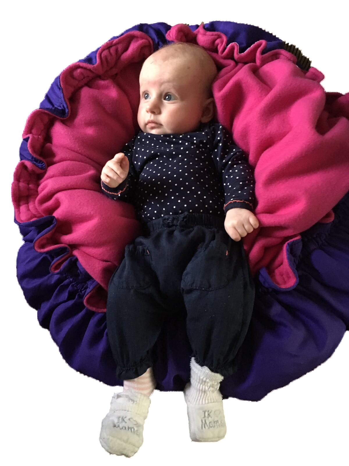 snoezelmand met baby