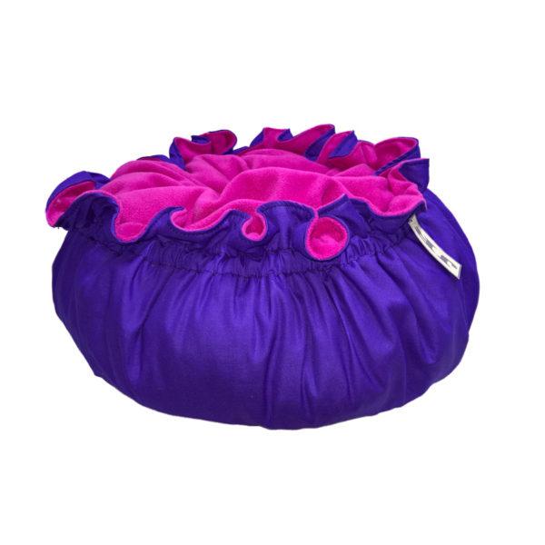 snoezelmand paars roze