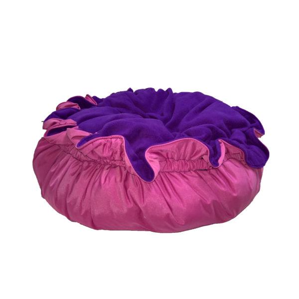 snoezelmand roze paars